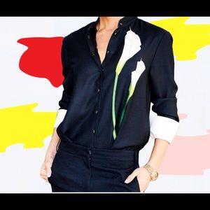 Victoria Beckham for Target Calla Lilly shirt